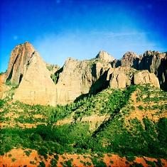 Kolob Canyon viaiPhone